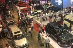 El sector automotriz genera 2,400 millones de dólares en negocios. Foto/Cortesía Panamá Motor Show
