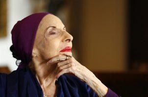 Alicia Alonso murió a los 98 años. Foto: EFE