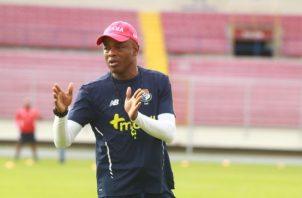Julio Dely Valdés, técnico de la selección juvenil de Panamá. Foto Anayansi Gamez