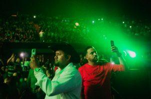 El trapcorrido mezcla la canción tradicional mexicana con influencias del hip-hop. Un show en Los Ángeles. Foto/ Alex Welsh para The New York Times.