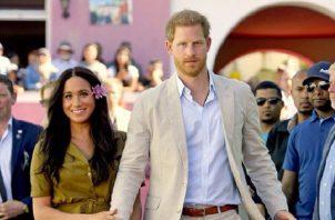 Los duques de Sussex, Meghan y Harry.  Foto: Instagram