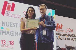 María Pérez-Talavera y Enrique Jaramillo Levi. Foto: Cortesía.