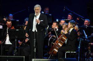 Plácido Domingo. Foto: EFE