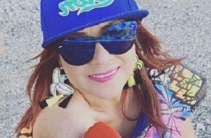 Delfia Cortez. Foto. Twitter