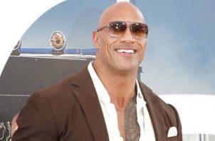 """Dwayne Johnson """"The Rock""""."""