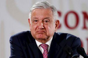 """""""El presidente de México nunca le va a dar la orden al Ejército de reprimir al pueblo, no vamos a enfrentar a hermanos con hermanos"""", sostuvo."""