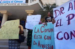 Arquesio Arias es acusado por los delitos de violación carnal y actos libidinosos. Foto: Víctor Arosemena.