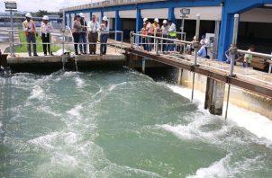 La planta potabilizadora Federico Guardia Conte suministra agua a más de un millón de panameños. Foto: Panamá América.