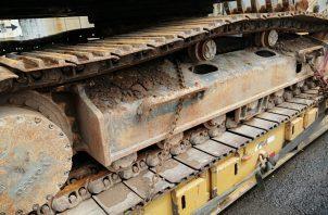 Minera Panamá no reportó a las autoridades la llegada de esta maquinaria.