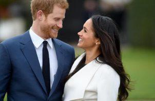 Príncipe Harry y Meghan Markle. Foto: EFE
