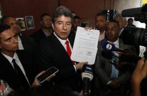Alejandro Moncada Luna, exmagistrado de la Corte Suprema de Justicia.