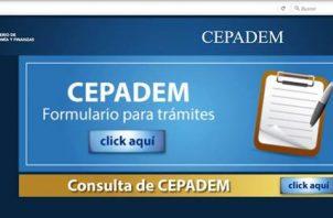 La página web del Cepadem estará en mantenimiento hasta el próximo viernes 25 de octubre.