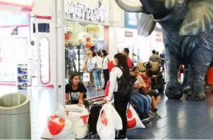 En el Panama Black Weekend se ofrecieron descuentos entre 20% a 70%. Archivo