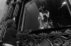 Ir al Santuario de Jesús Nazareno de Portobelo tiene un significado especial para cada persona que acude porque somos conscientes que él intercedió al Padre para que nuestros pecados fueran perdonados y pudiéramos mejorar nuestras vidas. Foto: Archivo.