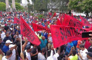 Las marchas y protestas se concentrarán en el área este y el centro financiero. Foto: Panamá América.