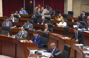 Diputados aprueban en segundo debate 107 artículos de las reformas constitucionales. Foto: Adiel Bonilla.