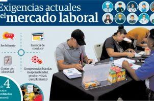 René Quevedo, experto en temas laborales indicó que históricamente, en las ferias de empleo sólo se logra cubrir el 35% de las vacantes disponibles.