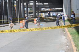 La muerte de Alexis fue instantánea al impactar contra el pavimento en San Miguelito.