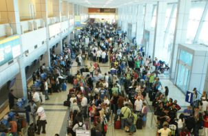 Durante el mismo periodo del año 2018, salieron de la terminal aérea 73,746 pasajeros (nacionales y extranjeros). Foto/Tocumen S.A.