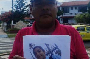 Isidoro Tejeira padre del menor, fue quien interpuso la denuncia ante las autoridades. Foto: Mayra Madrid.