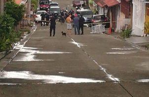 El hecho de sangre se registró en calle 14 de Villa Lucre.