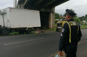 El mortal accidente fue en la autopista Arraiján-La Chorrera. Foto: Eric A. Montenegro.