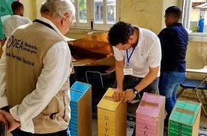 La pena por fraude electoral va de seis meses a tres años de prisión. Foto: Panamá América.