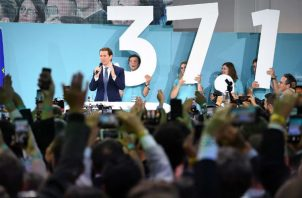 En Austria, el partido conservador del canciller Sebastian Kurz se alió con el ultraderechista Partido de la Libertad. Foto/ Joe Klamar/Agence France-Presse — Getty Images.