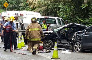 Durante días festivos tiende a incrementarse los accidentes de tránsito en el país.