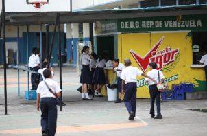 Con la supervisión de los kioscos escolares se busca crear una vida saludable en los estudiantes. Foto: Archivo