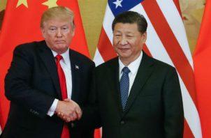 Donald Trump, presidente de Estados Unidos anunció un acuerdo parcial a inicios del mes. EFE