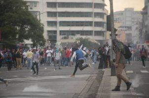 En las últimas semanas se han intensificado las protestas contra las reformas constitucionales.