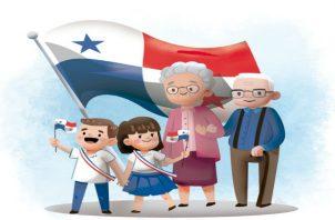 La Comisión debe velar por el uso correcto de los símbolos en Fiestas Patrias./ Foto: Panamá América