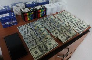 El supuesto laboratorio que fue desmantelado en Arraiján se dedicaba también a la falsificación de monedas.