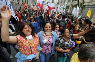 Mauricio Gutiérrez, dirigente de un sindicato de trabajadores de los sectores electrometalúrgico, minero y automotriz, exigió que se frene la reforma de pensiones.