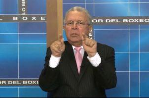 Mauricio Valenzuela acusa a Juan Carlos Tapia de recibir dinero del Estado por medio de su programa Lo Mejor del Boxeo. Foto: Panamá América.