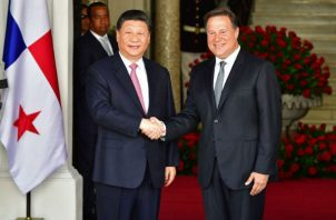 Durante su gestión presidencial Juan Carlos Varela viajó tres veces a China. Foto: Archivo.
