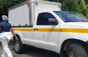 La oficina del cuerpo de bomberos de Chiriquí Grande quienes acudieron al lugar de los hechos levantaron un informe y realizan las investigaciones correspondientes. Foto/Mayra Madrid