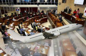 La Asamblea Nacional gastó 30 mil 987 dólares en concepto de boletos aéreos y viáticos. Imagen: Adiel Bonilla.