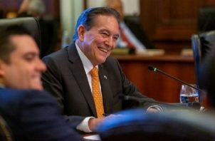 Laurentino Cortizó confirmó la visita de la delegación de diez congresistas de Estados Unidos.