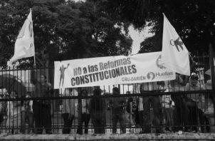 El llamado a una constituyente paralela me parece el menos malo de los caminos dentro de la legalidad constitucional. Foto: Víctor Arosemena. Epasa.