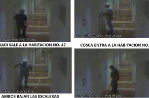 Los administradores del hotel habían declarado a las autoridades que las cámaras de seguridad habían sufrido una falla para esas fechas. Foto: redes sociales.