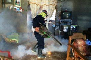 El Minsa instó a la población a acabar con los criaderos de los mosquitos aedes aegypti. Foto: Panamá América.