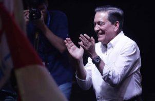 Laurentino Cortizo dijo que hay que construir puentes de diálogo. Foto: Archivo.