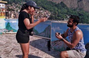 Sara Bello y Agustín De Gracia. Foto: Instagram