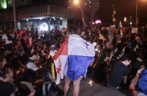 En las últimas semanas se han registrado una serie de protestas de diversos sectores en contra de las reformas constitucionales. Víctor Arosemena