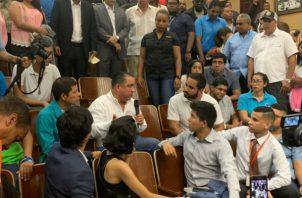 Diálogo con el presidente de la Asamblea Nacional.