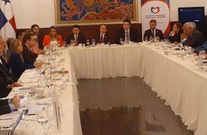 El presidente Laurentino Cortizo presentó a la Concertación los 20 artículos de las reformas constitucionales aprobadas por la Asamblea Nacional.