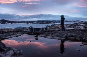 Cabo Dorset, Canadá, es conocido por su arte, pero está plagado de abuso doméstico, pobreza y alcoholismo. Foto/ Sergey Ponomarev para The New York Times.