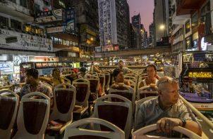 El índice de ocupación hotelera en Hong Kong es de alrededor del 60 %, en comparación con el 91 % a principios de este año. Foto/ Lam Yik Fei para The New York Times.